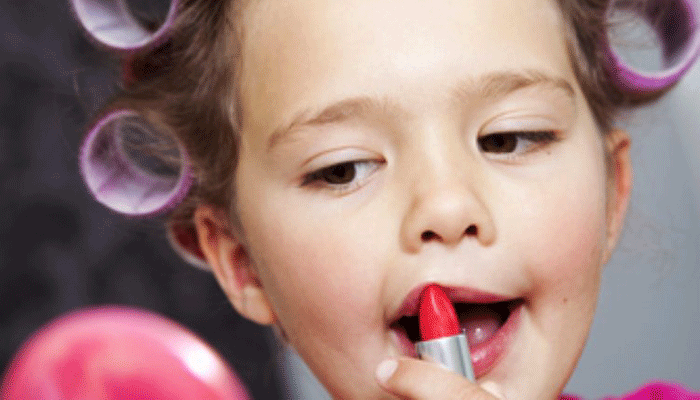 Nails and Makeup for kids . when should they start?