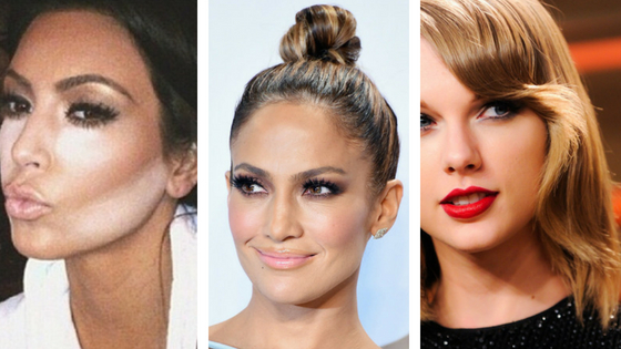 Celebrity Makeup Transformation: Kim Kardashian, JLo &…